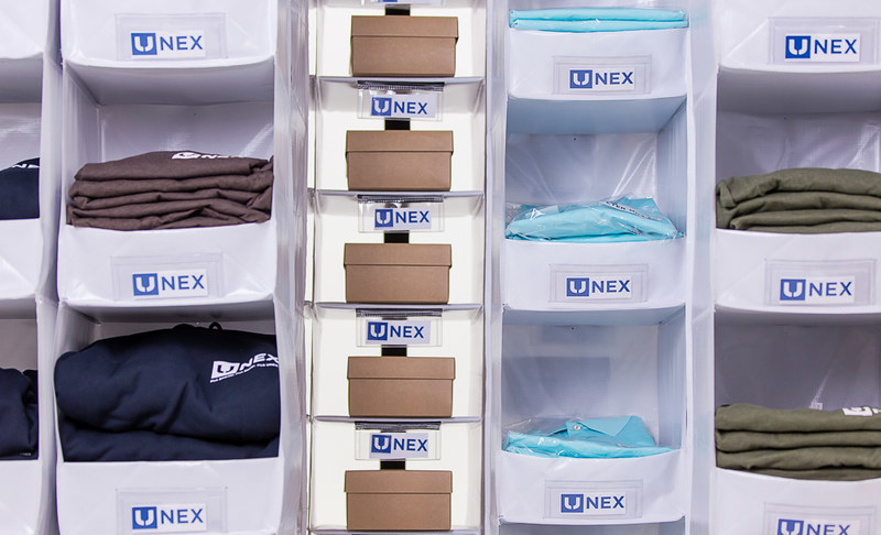 UNEX SpeedCell High-Density Storage System - Front Styles